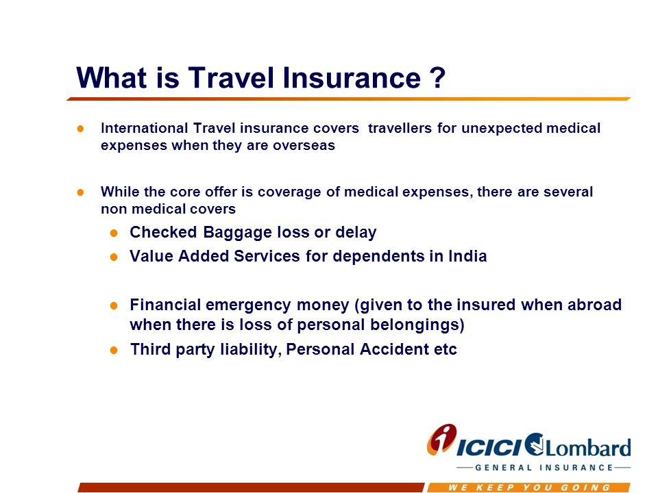 What is Travel Insurance .