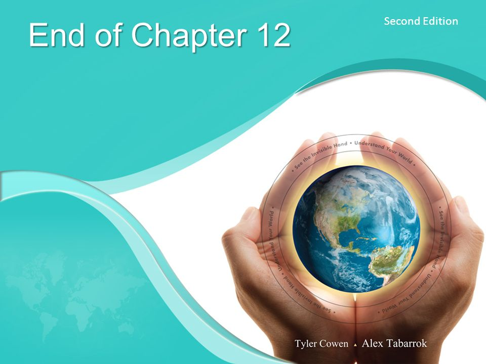 Second Edition End of Chapter 12