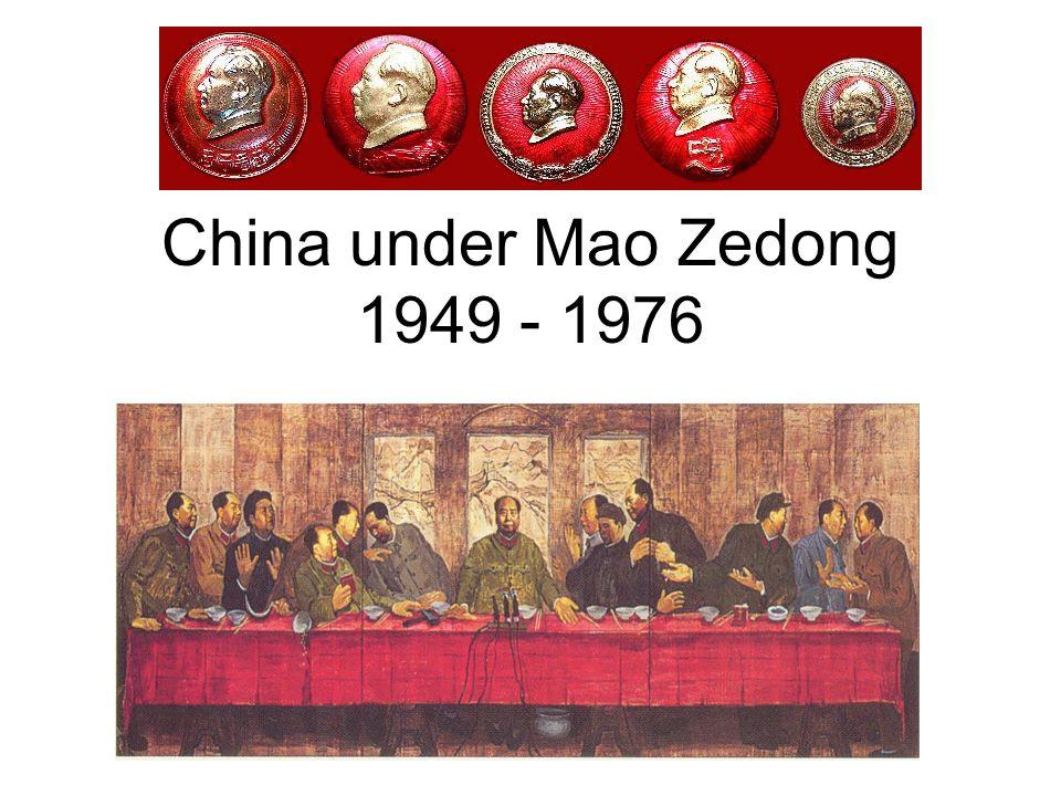 China under Mao Zedong 1949 - 1976