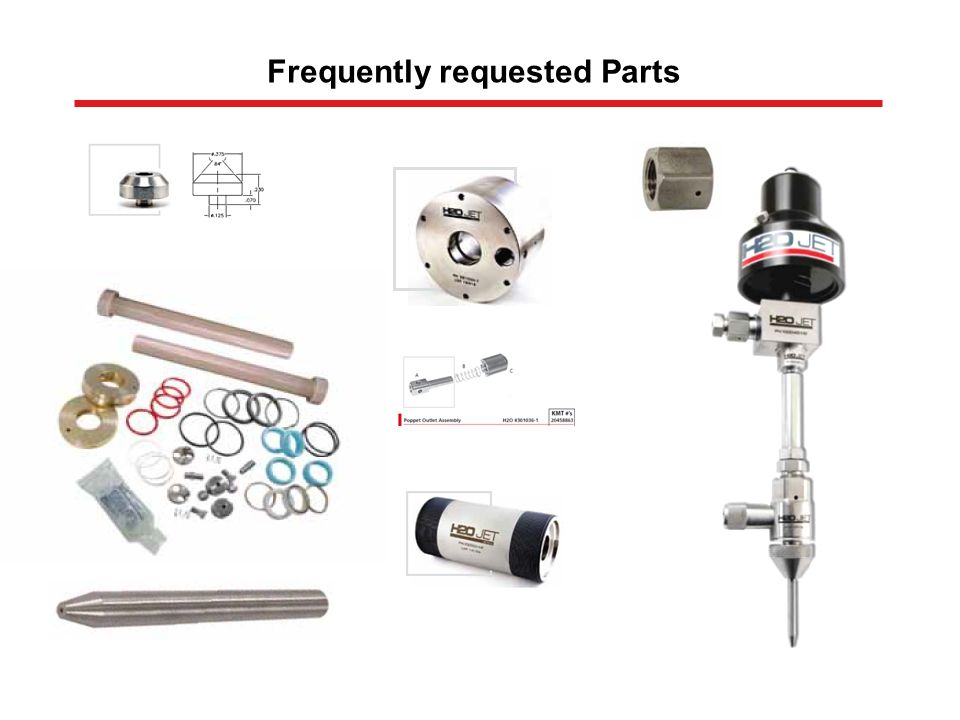 Frequently requested Parts