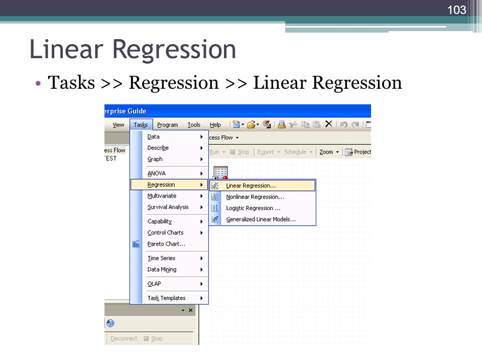Linear Regression Tasks >> Regression >> Linear Regression 103