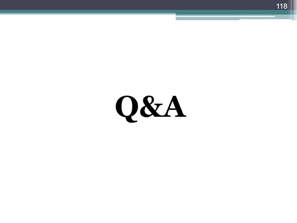 Q&A 118