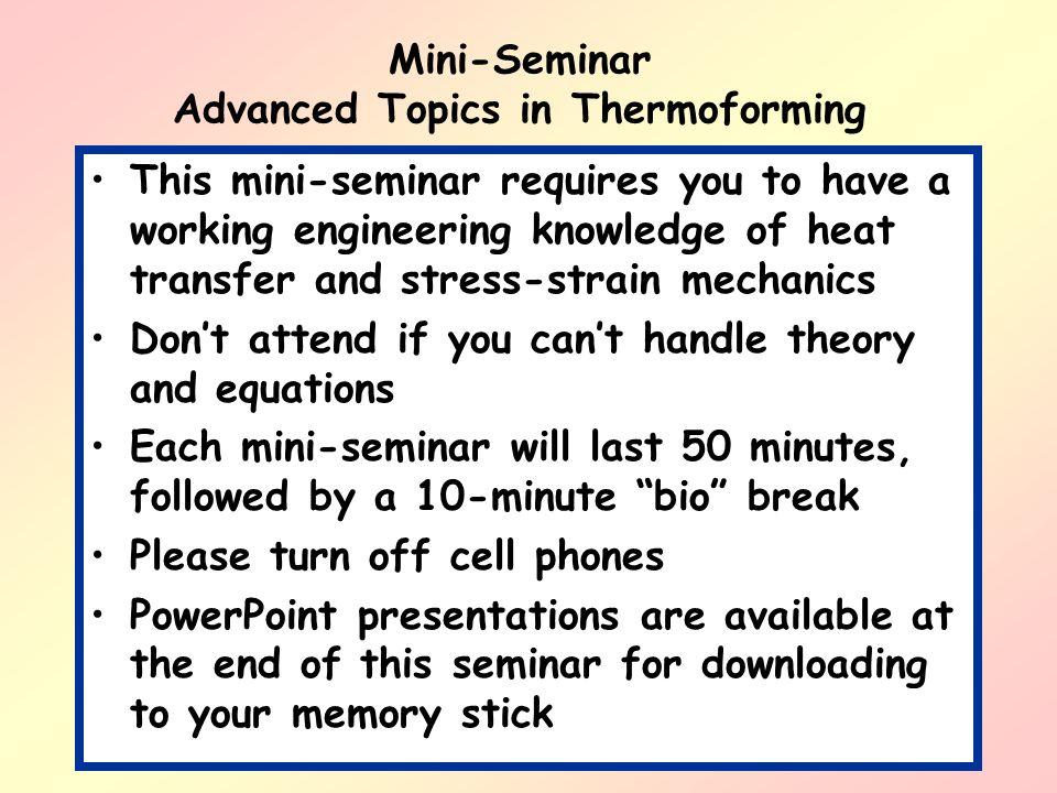 Part 3: Trimming as Mechanical Fracture Trim Tolerance Limitation, cont.