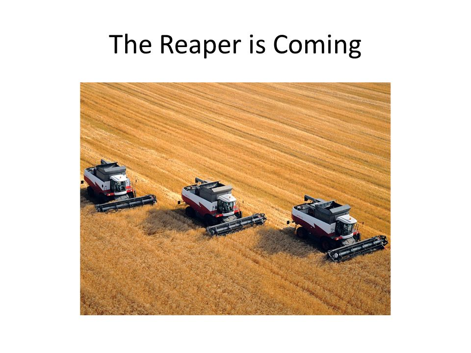 The Reaper is Coming