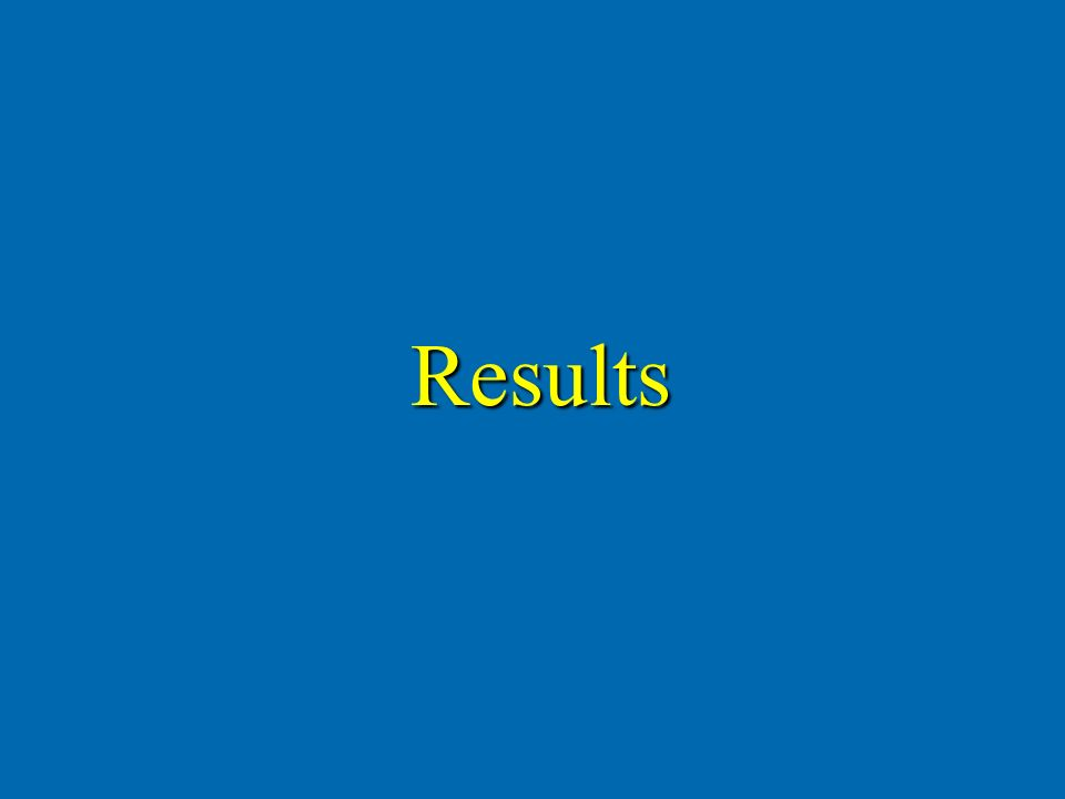 Results Results