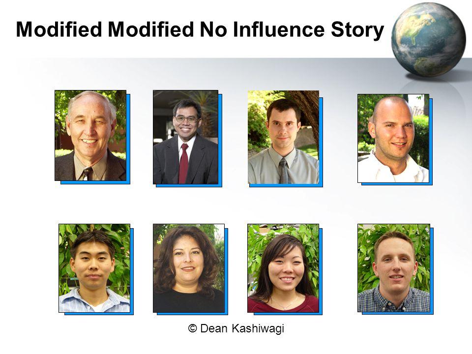 © Dean Kashiwagi Modified Modified No Influence Story