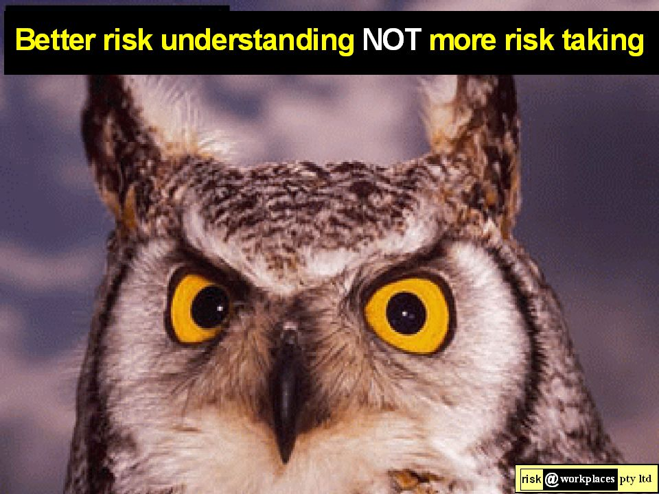 * ALL causes / risks arepredictable Hence ALL are manageable / controllable .