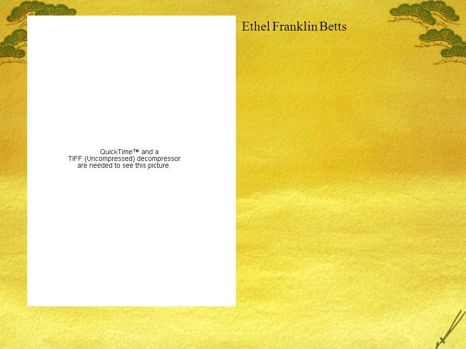 Ethel Franklin Betts