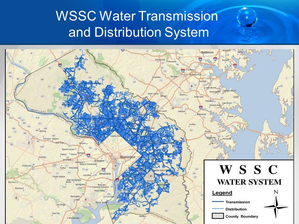 3 WSSC Water Transmission and Distribution System