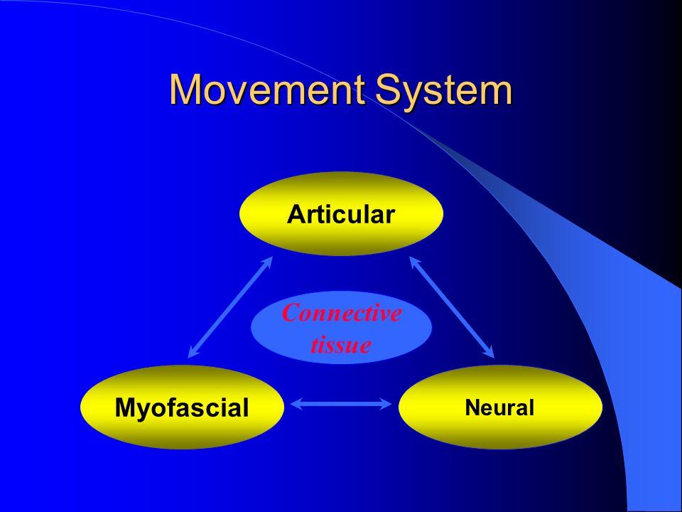Movement System Articular Neural Myofascial Connective tissue
