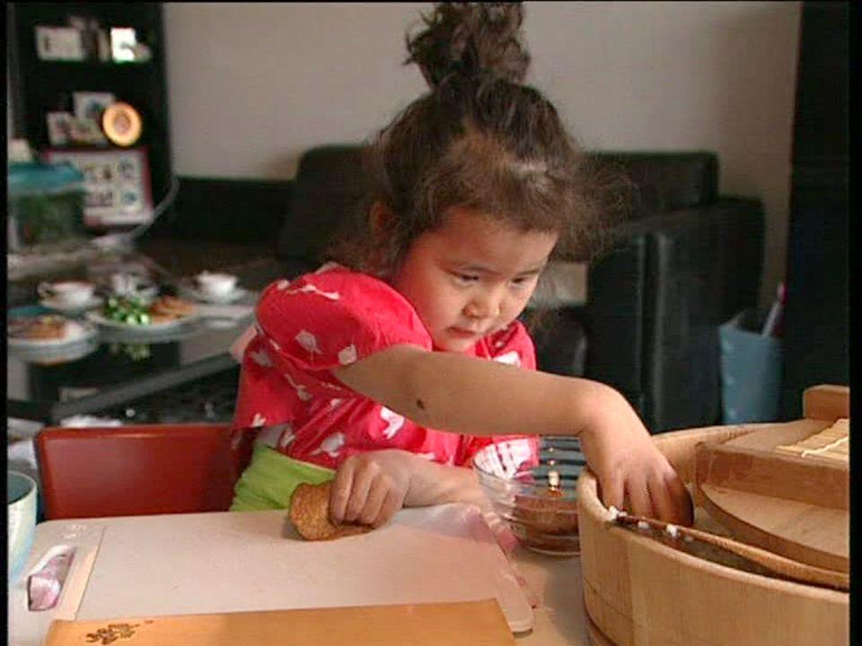 preschool documentary Reika makes sushi