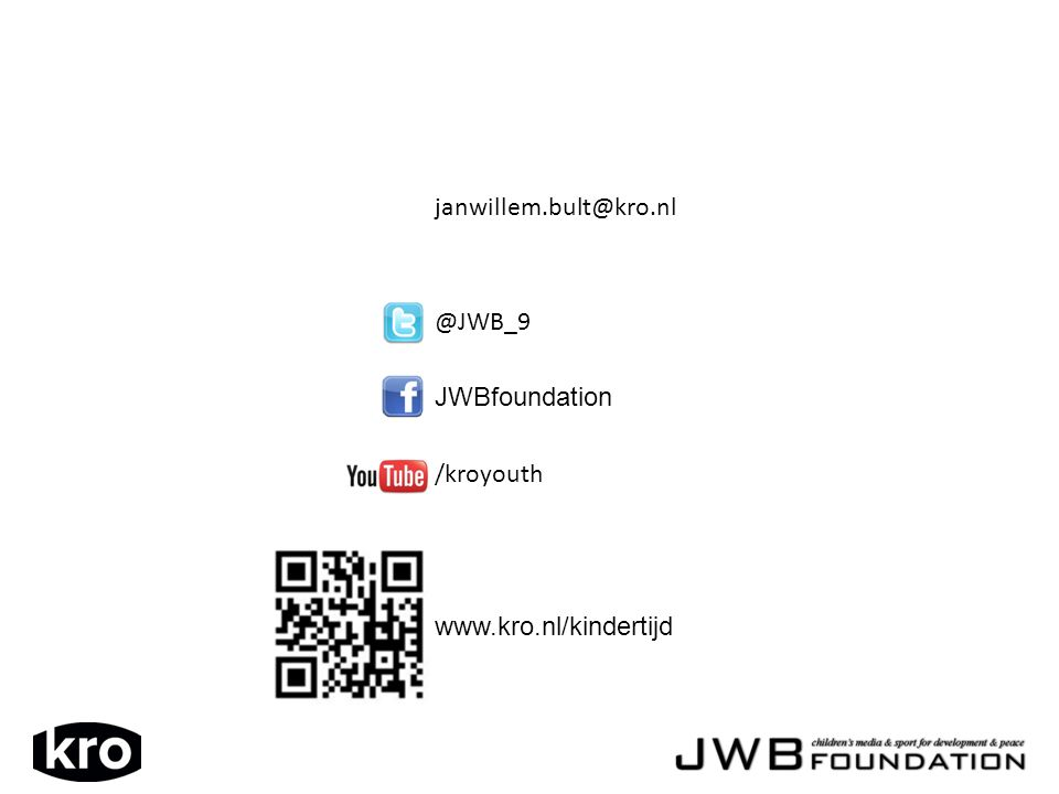 @JWB_9 JWBfoundation /kroyouth