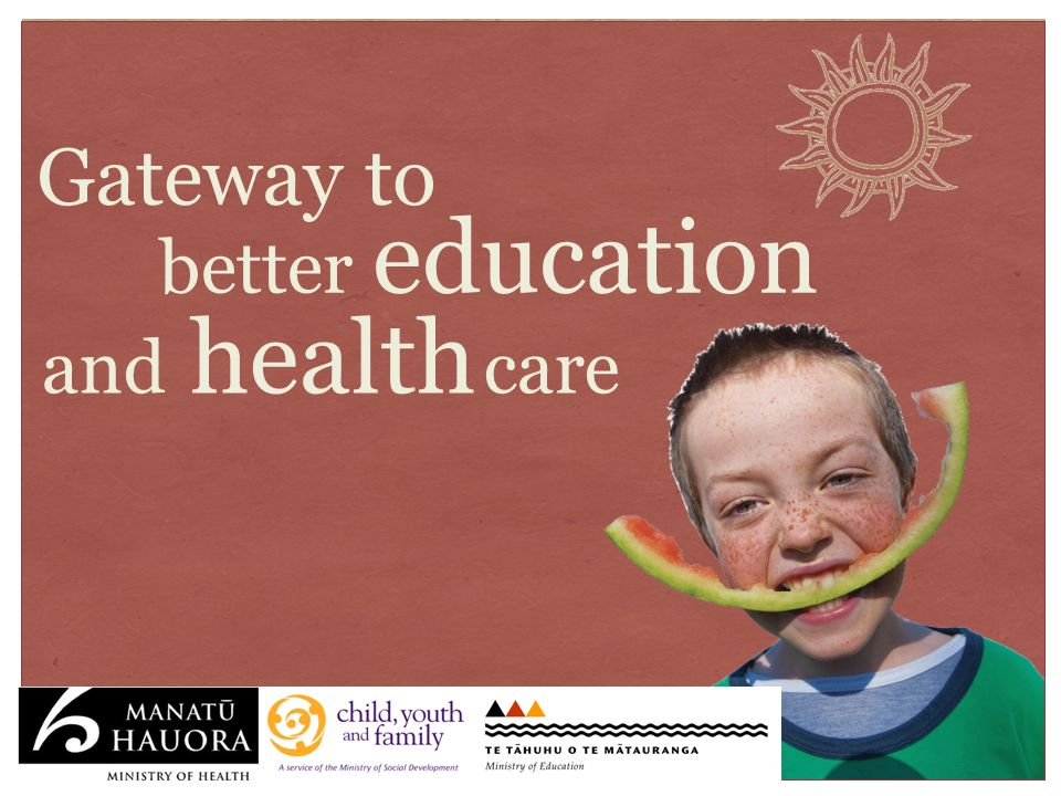 Gateway to better education and health care
