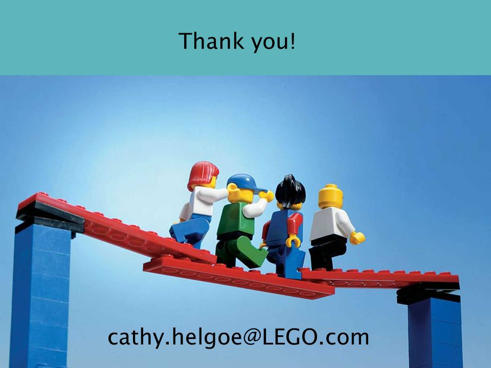 Thank you! cathy.helgoe@LEGO.com