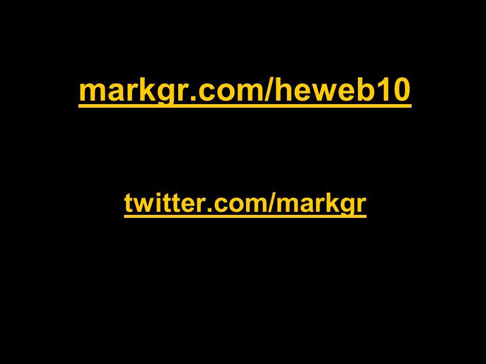 markgr.com/heweb10 twitter.com/markgr