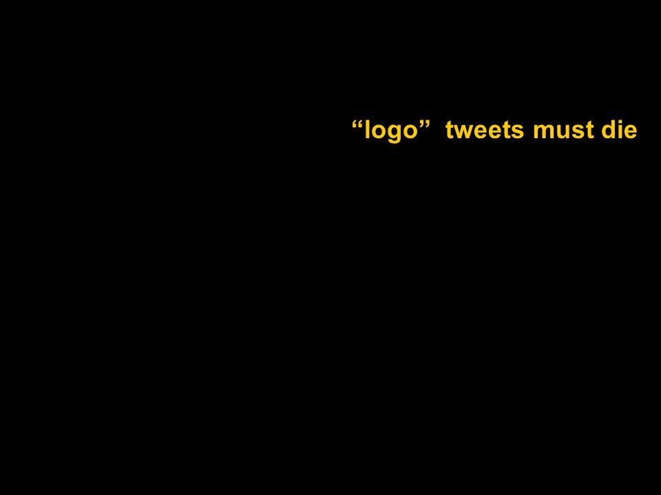 logo tweets must die