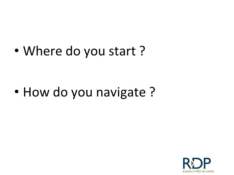 Where do you start ? How do you navigate ?