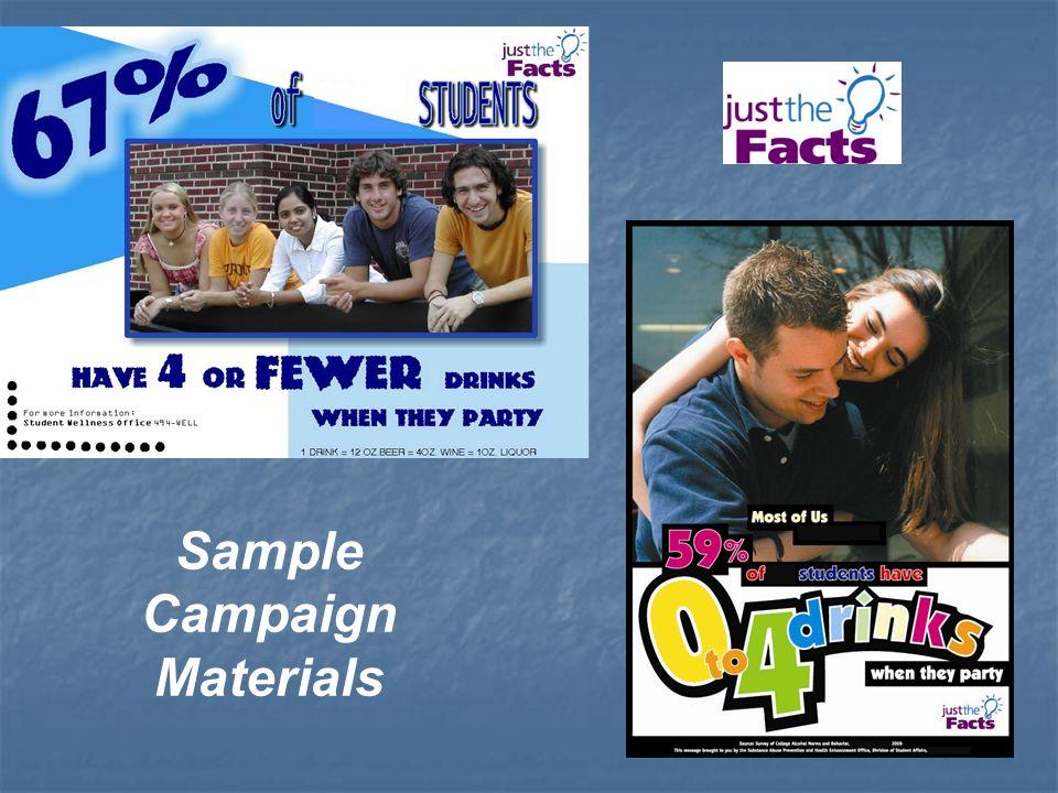 Sample Campaign Materials