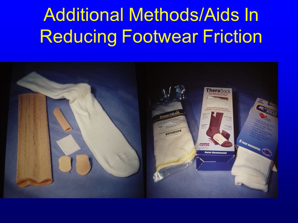 Additional Methods/Aids In Reducing Footwear Friction