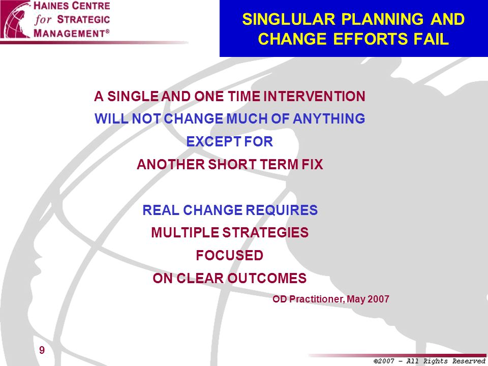 40 THREE GOALS OF STRATEGIC MANAGEMENT GOAL #1: DEVELOPING STRATEGIC, BUSINESS, AND ANNUAL PLANS (AND DOCUMENTS) GOAL #2: ENSURING SUCCESSFUL IMPLEMENTATION (AND ENTERPRISE-WIDE CHANGE) GOAL #3: BUILDING & SUSTAINING HIGH PERFORMANCE (YEAR AFTER YEAR) THE DESIRED RESULTS: BUSINESS EXCELLENCE & SUPERIOR RESULTS (YEAR AFTER YEAR)