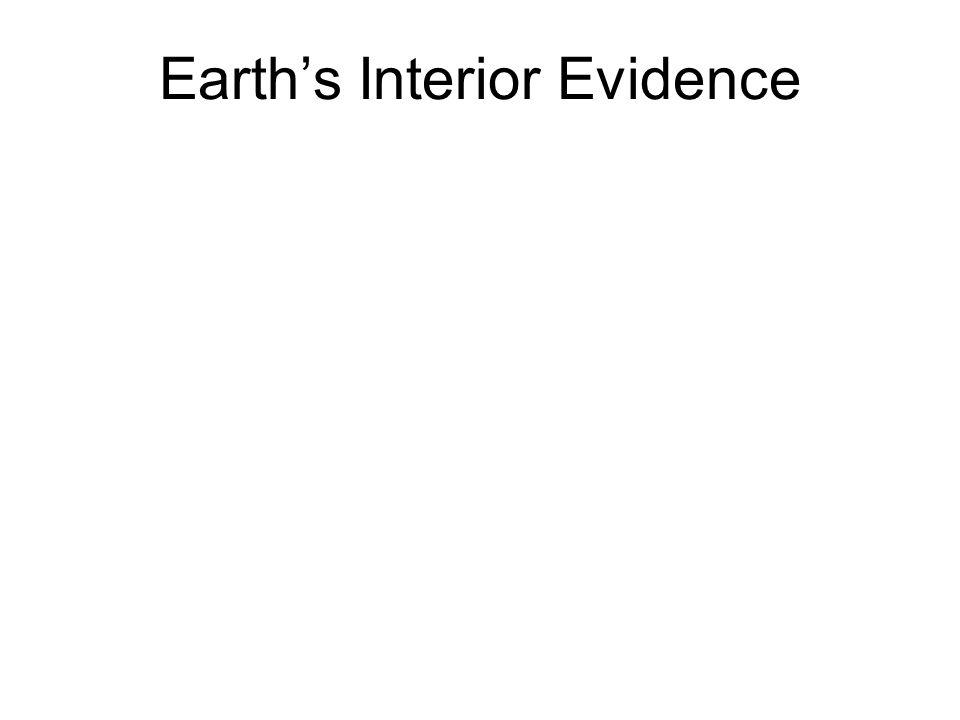 Earths Interior Evidence