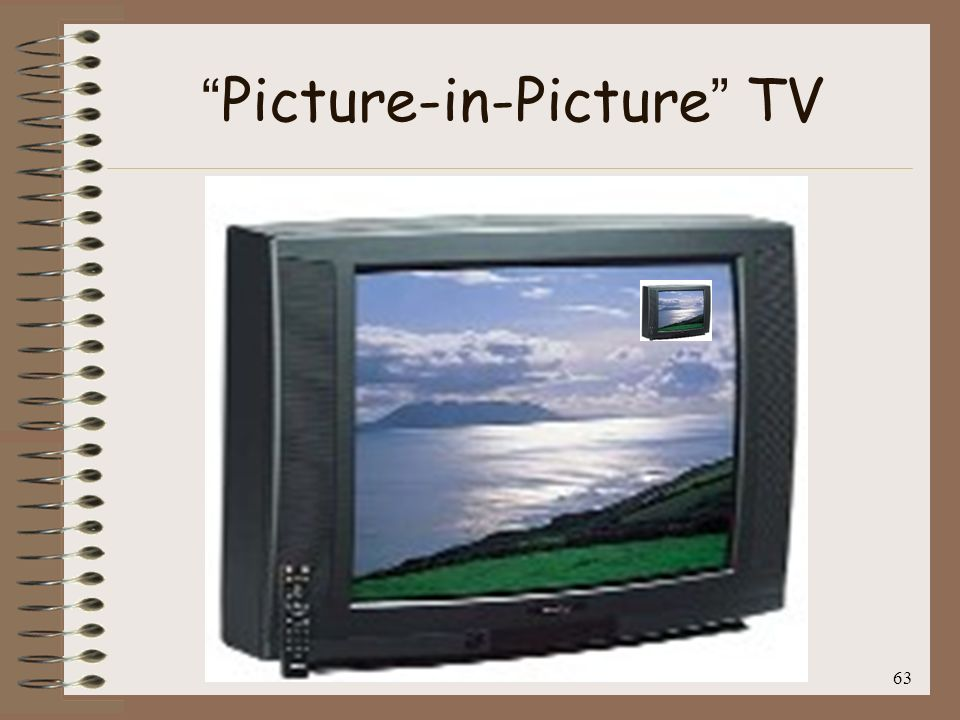 63 Picture-in-Picture TV
