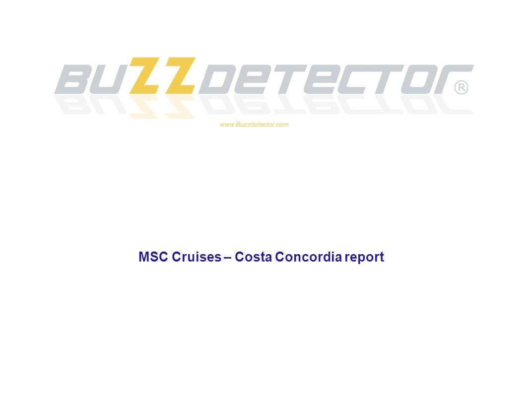 MSC Cruises – Costa Concordia report