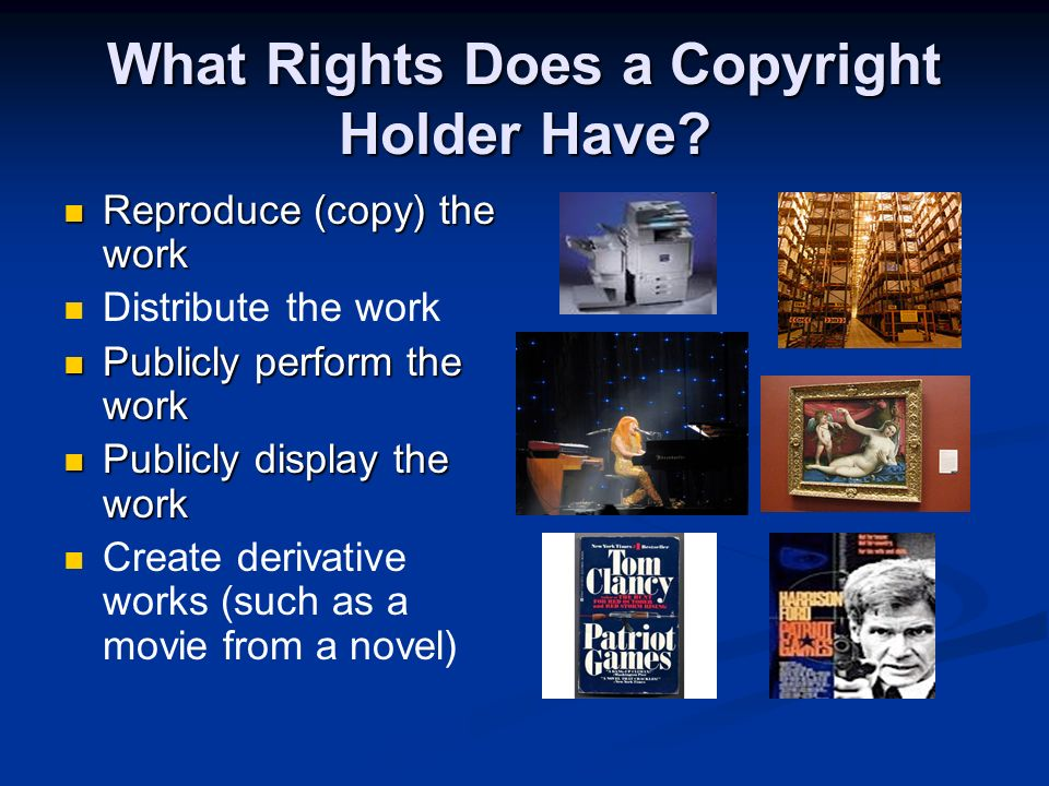 When Is Copyright Created? When the copyrightable work is fixed in a tangible medium, including on paper or on a computers hard drive for more than fe