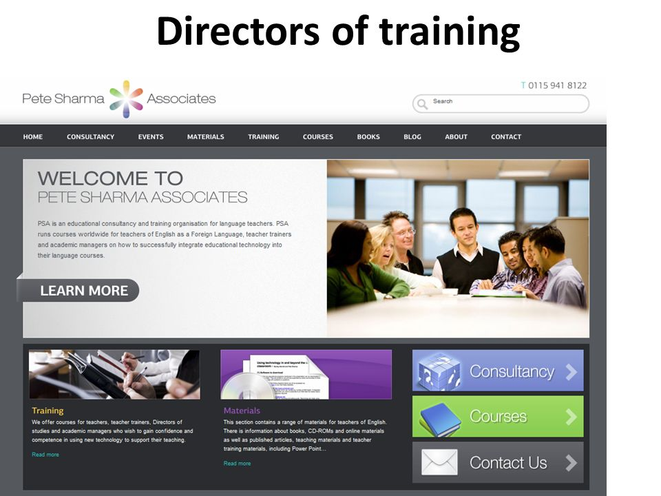 Directors of training