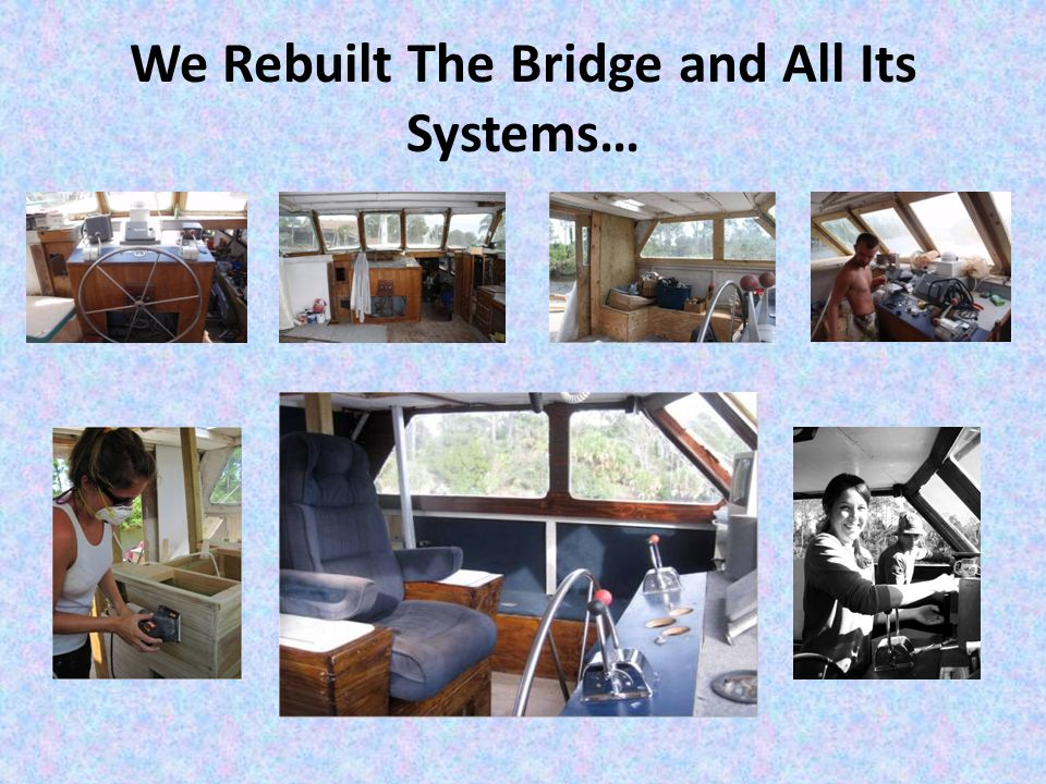 We Rebuilt The Bridge and All Its Systems…