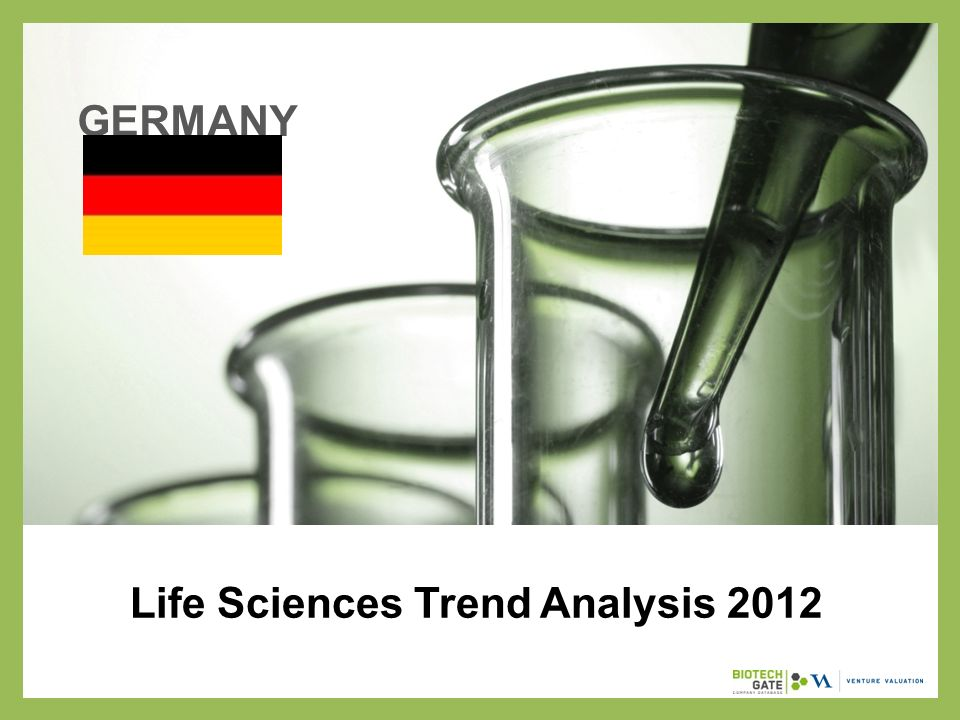 Life Sciences Trend Analysis 2012 GERMANY