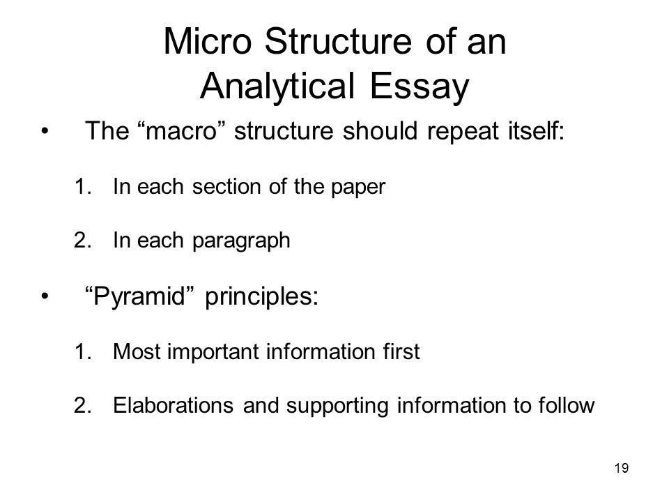 what is essay structure