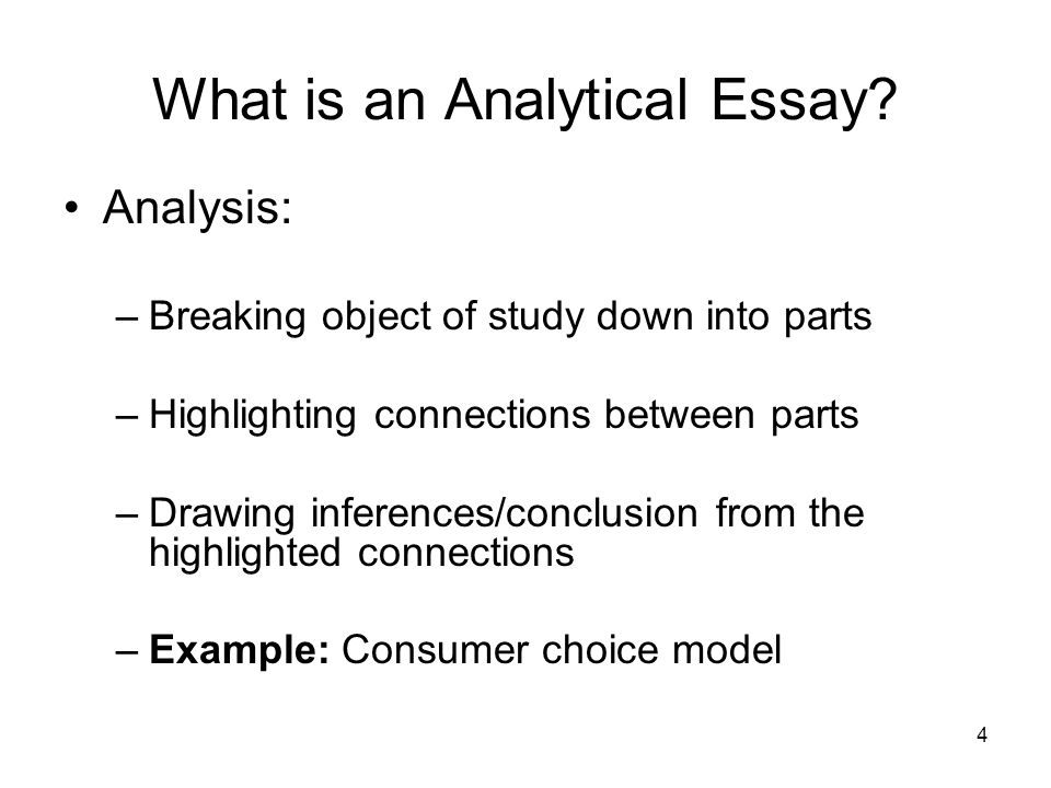 what is an analytical essay the analytical essay todays agenda what is an analytical - Writing A Analytical Essay