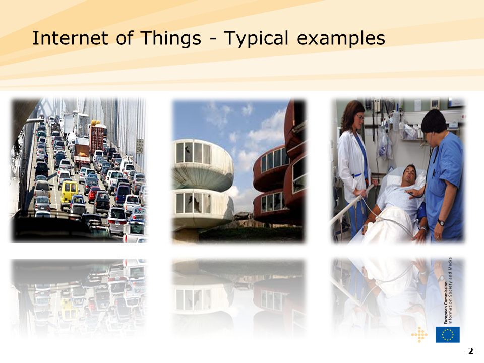 Internet of Things - Typical examples -2-