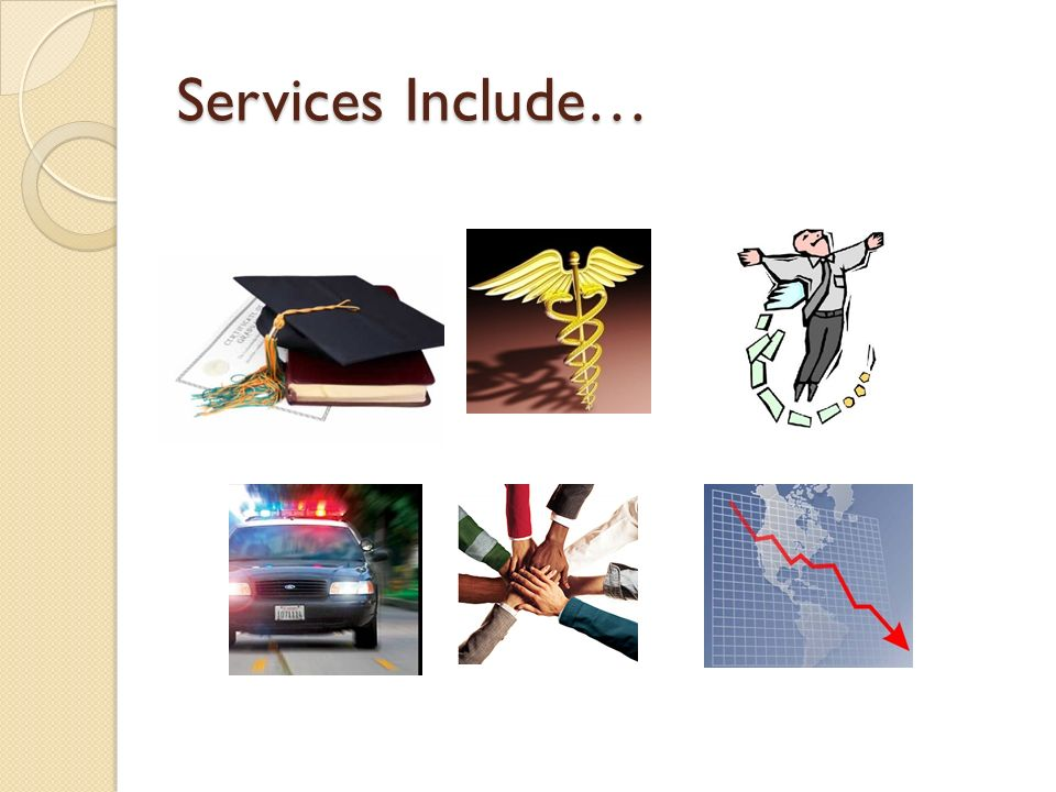 Services Include…
