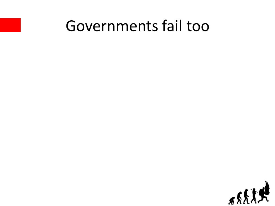 Governments fail too