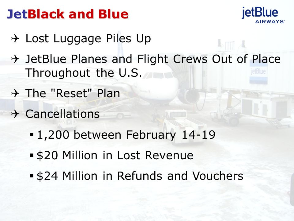 Lost Luggage Piles Up JetBlue Planes and Flight Crews Out of Place Throughout the U.S. The
