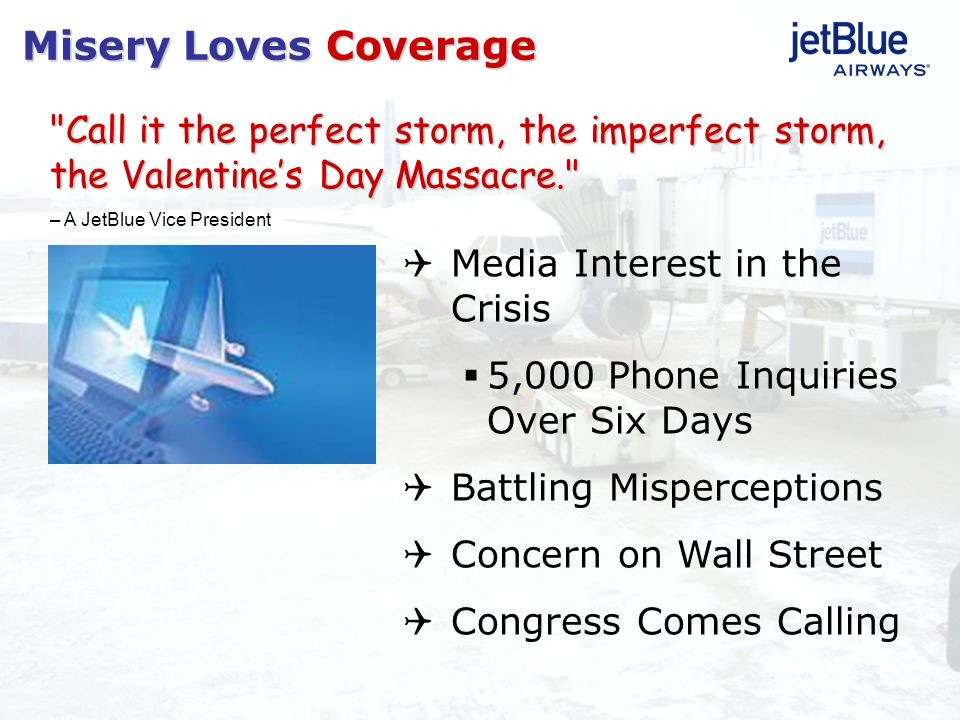 Misery Loves Coverage Media Interest in the Crisis 5,000 Phone Inquiries Over Six Days Battling Misperceptions Concern on Wall Street Congress Comes C