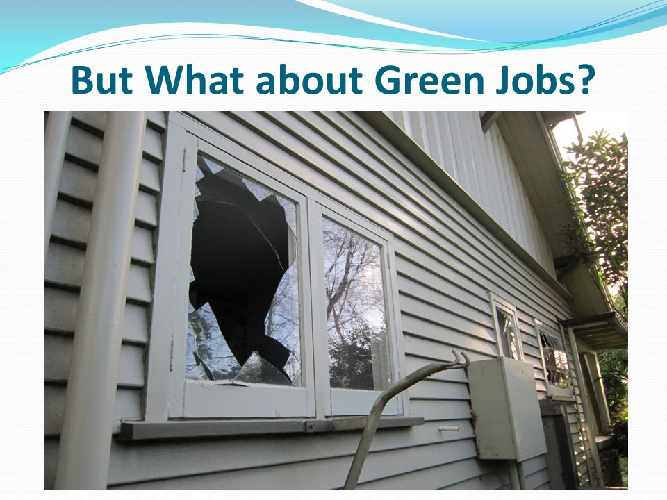 But What about Green Jobs
