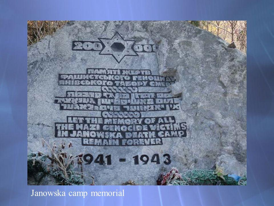 Janowska camp memorial