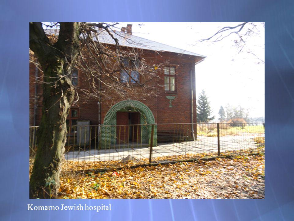 Komarno Jewish hospital