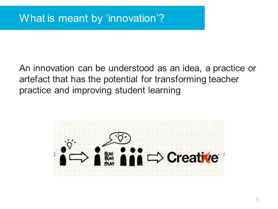 What is meant by innovation.
