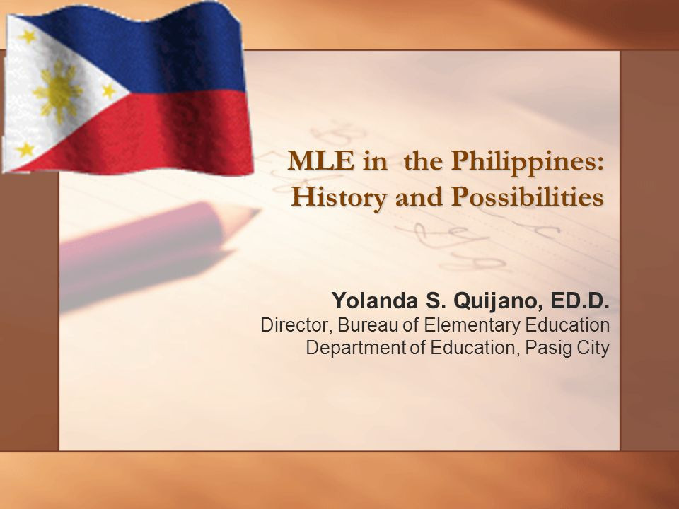 Lingua Franca Project:1999-2001 Experimental groups used three lingua francae: Ilokano, Tagalog and Cebuano as MOI in Grds.