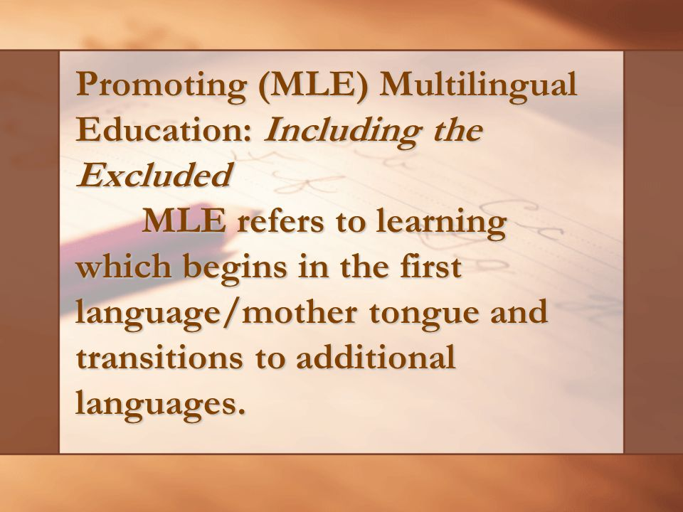 Language Issues D ate back from Spanish and American colonization and continue to the present Proficiency in English will enhance global competitiveness, prepare Filipinos for employment overseas and provide better access to scientific and technical knowledge Filipino is more culturally relevant and practical and has the value to foster national unity