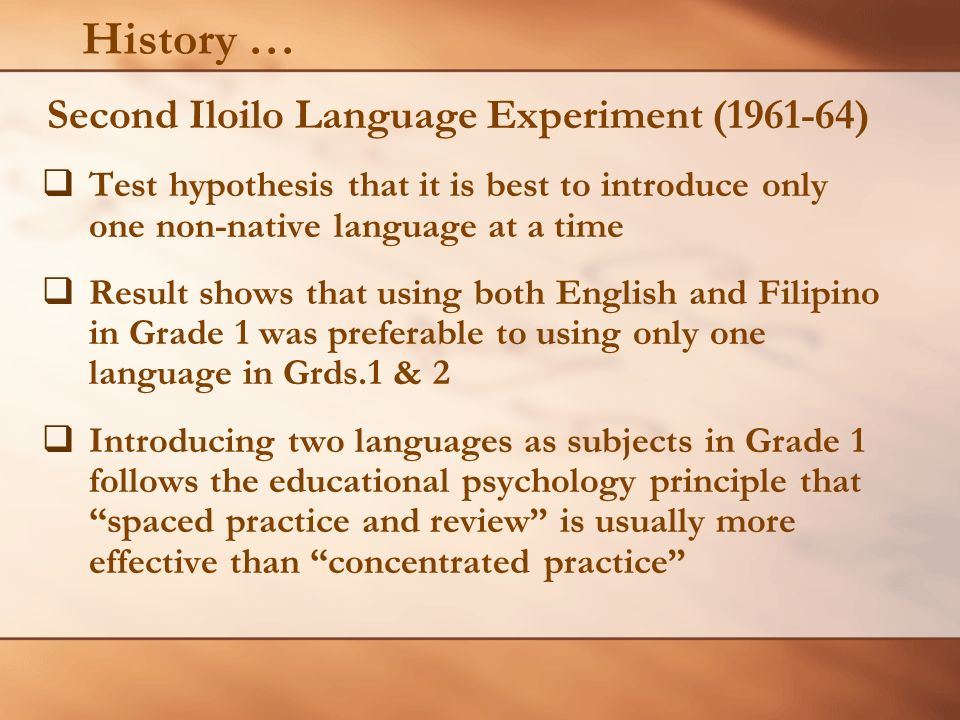 A CASE STUDY from CCIP-TEEP (Culture- Responsive Curriculum for Indigenous People-Third Elem.