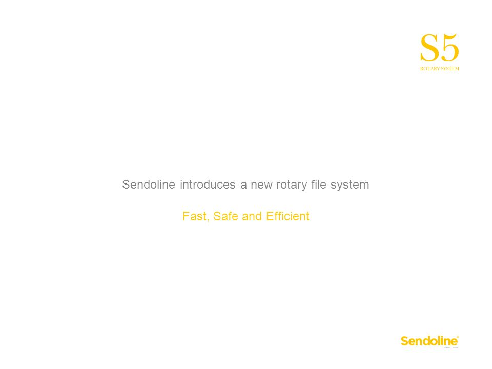 Sendoline introduces a new rotary file system Fast, Safe and Efficient