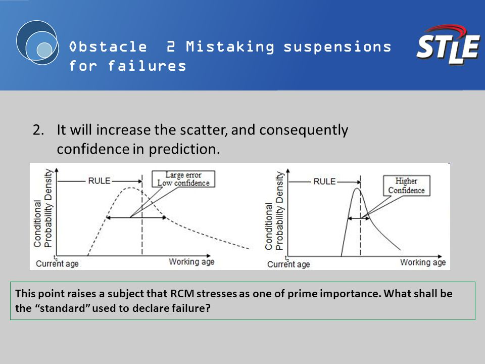 2.It will increase the scatter, and consequently confidence in prediction. This point raises a subject that RCM stresses as one of prime importance. W