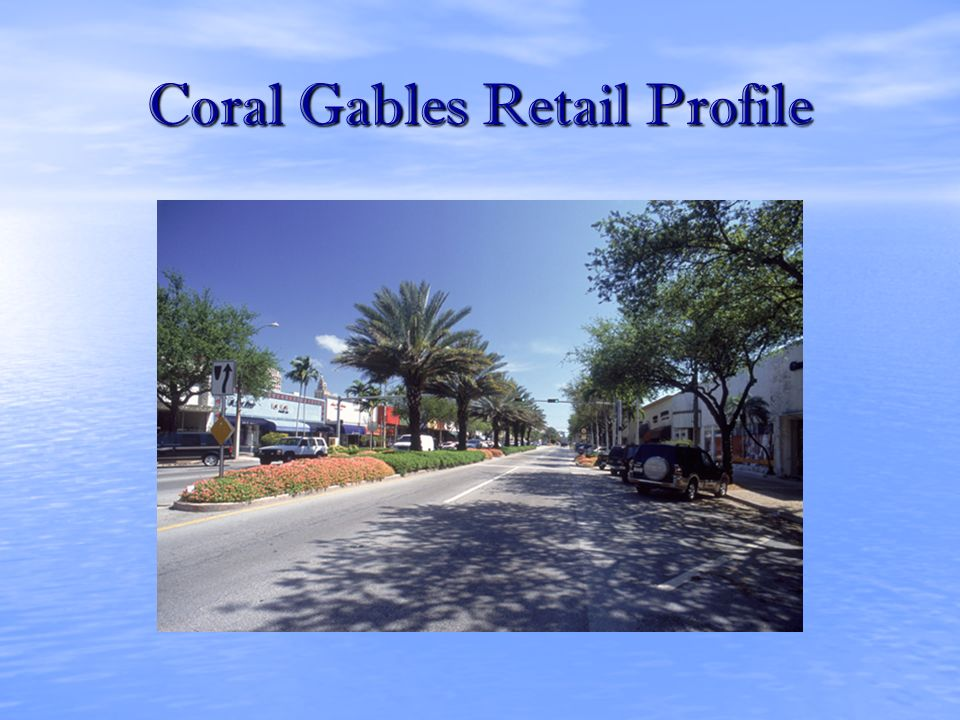 Coral Gables Retail Profile