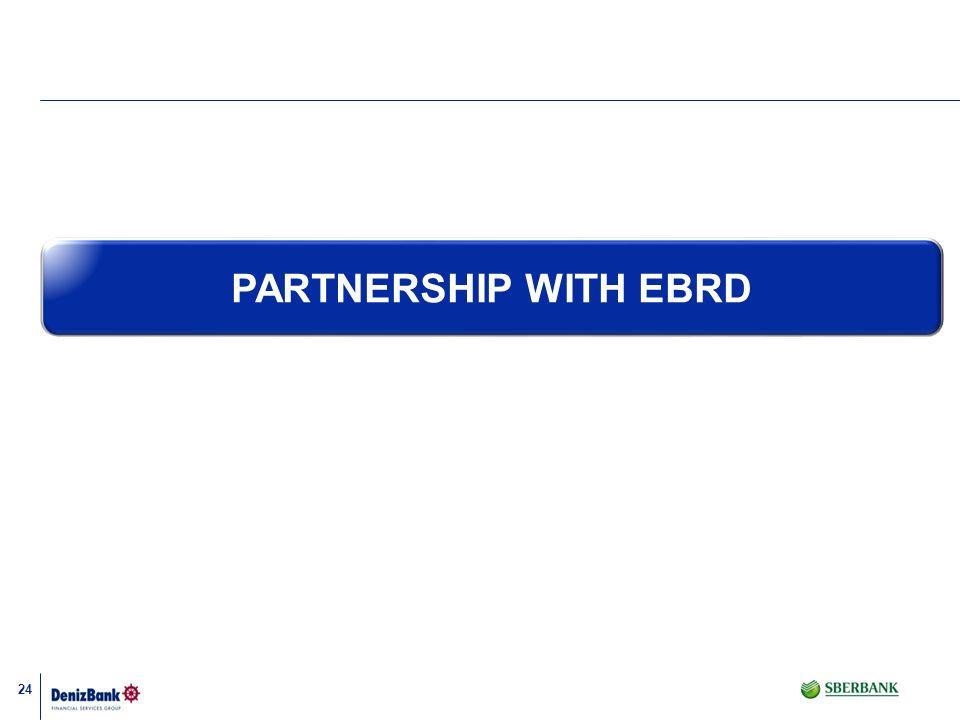 24 PARTNERSHIP WITH EBRD