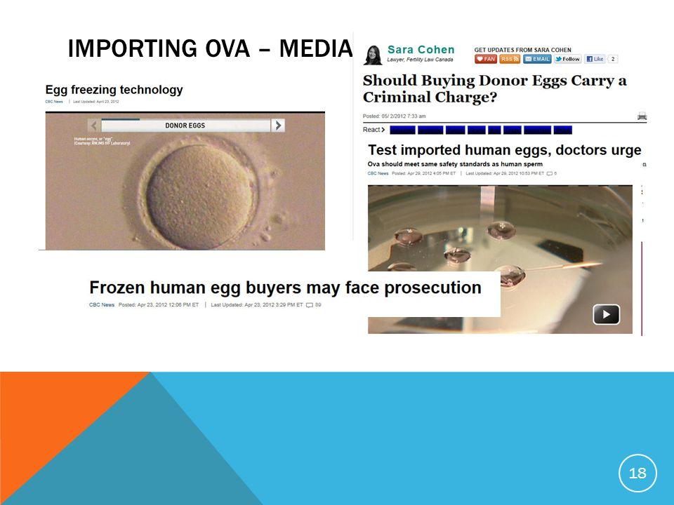 IMPORTING OVA – MEDIA APRIL 2012 18